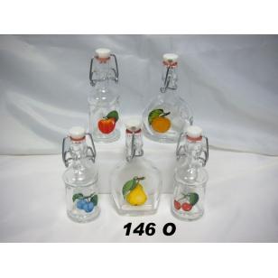 Fľaša 40ml ovocie