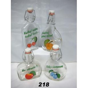 Fľaša 2dl ovocie
