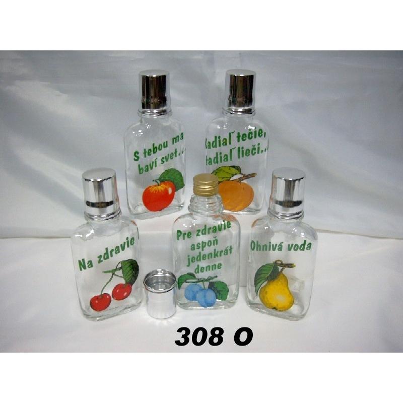 Fľaša ťapka 1dl ovocie
