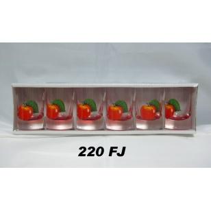 35ml poháre jablka farba