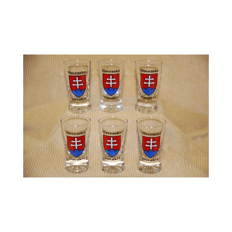 Poháre 25 ml Slovensko