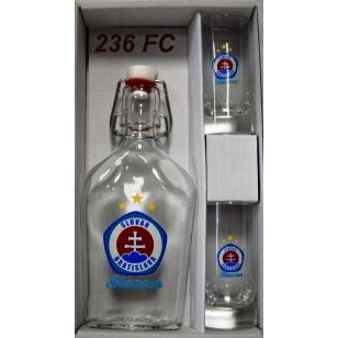 Ploskačka+2poháre FC Slovan