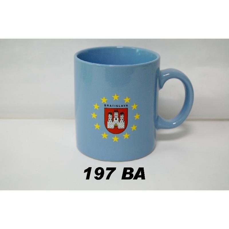 Šálka s logom Bratislava