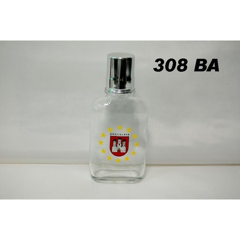 Fľaša ťapka 1dl s logom Bratislava