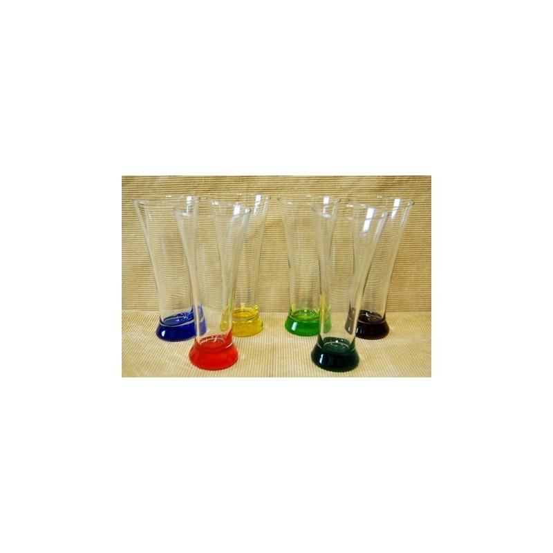 Pivové poháre 3 dl farbené