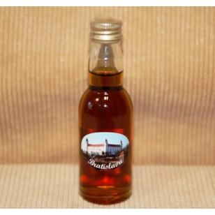 Fľaša 40 ml s medovinou foto Bratislava