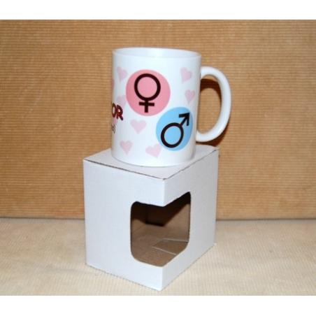 Darčekový hrnček s krabičkou sex inštruktor