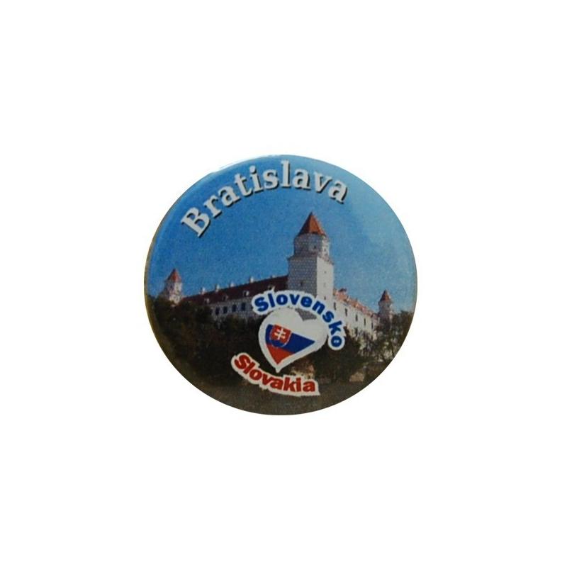 Odznak 3 cm Bratislava