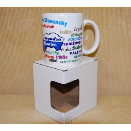 Darčekový hrnček s krabičkou hovoríte Slovensky