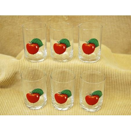 35ml poháre jablka