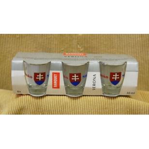 Poháre 30 ml Slovensko