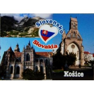 Magnetky na chladničku Košice 7x5 cm