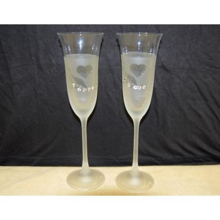 Svadobné poháre 2ks