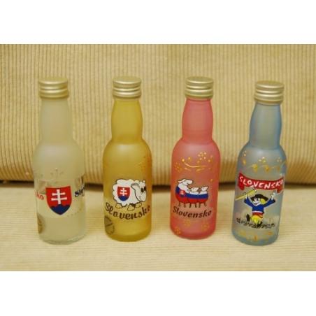 Fľaša 40ml SK farbená