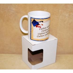 Darčekový hrnček s krabičkou k promócií