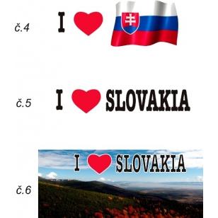 Foto hrnček I love Slovakia
