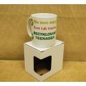Darčekový hrnček s krabičkou recyklovaný