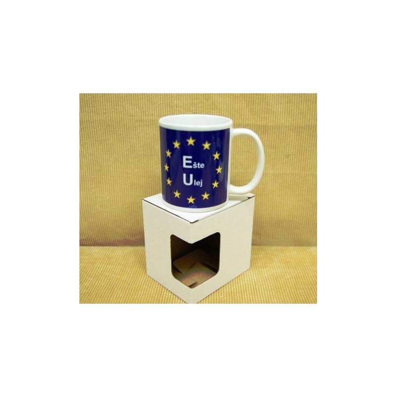 Darčekový hrnček s krabičkou EU
