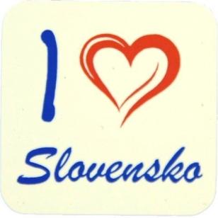 Magnetka na chladničku Slovensko