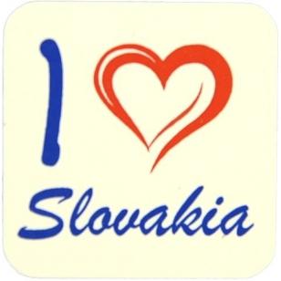 Magnetka na chladničku Slovakia