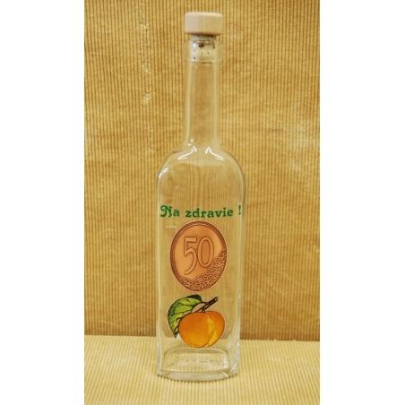 Fľaša Chia 0,5 L ovocie