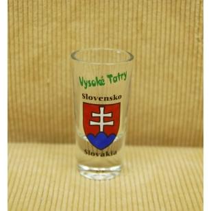 Pohár 25ml Slovensko VT