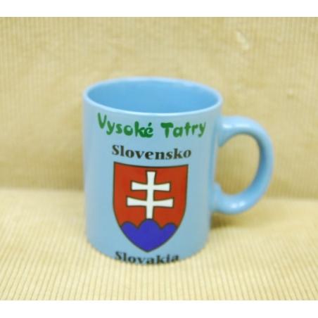 Farebná šálka Slovensko VT