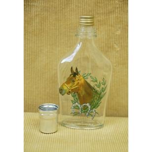 Fľaša ťapka 2dl kone