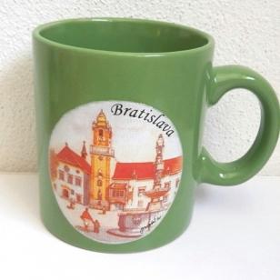 Šálka s obrázkami Bratislavy