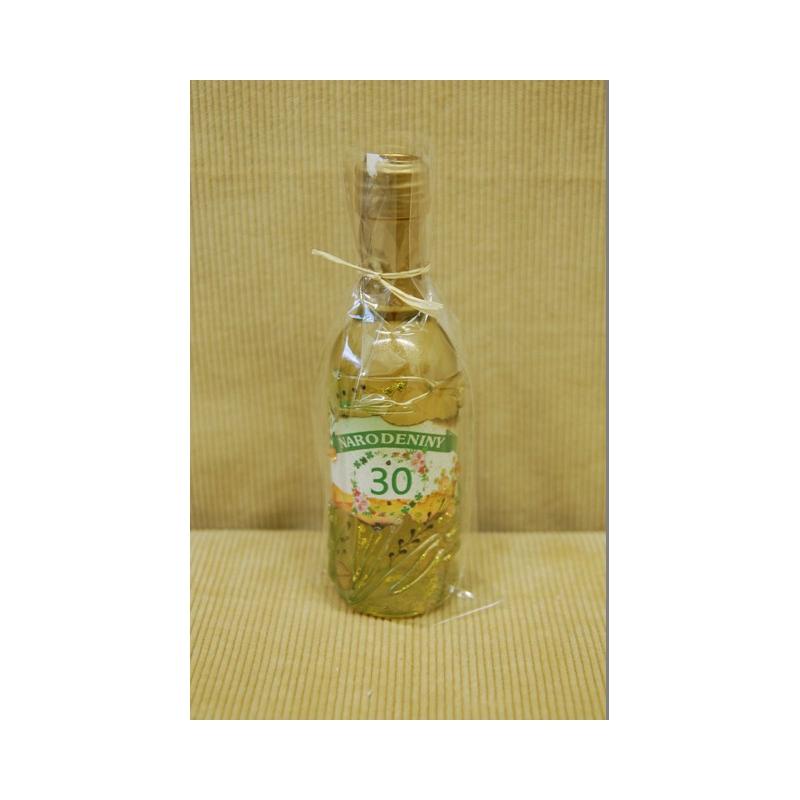 Výročná ozdobná fľaša 2dl medovina