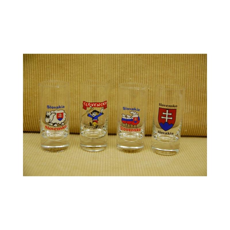 60ml pohár Slovensko