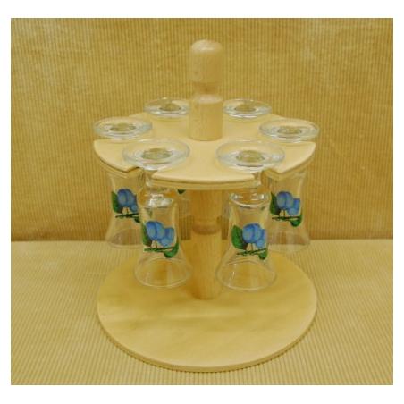 Súprava pohárov stojan ovocie