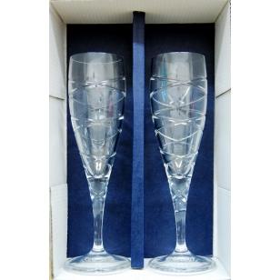 Svadobné krištáľové poháre 220 ml