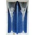Svadobné krištáľové poháre 180 ml obrúčky