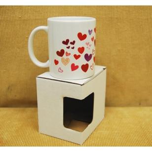 36. Darčekový hrnček milujem Ťa v krabičke