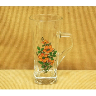 Hrnček grog 330ml kvety