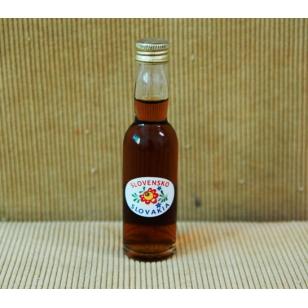 Fľaša 40 ml s medovinou foto mestá