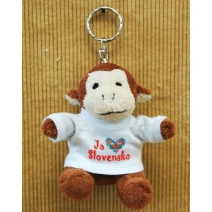 Kľúčenka opica ľudové vzory