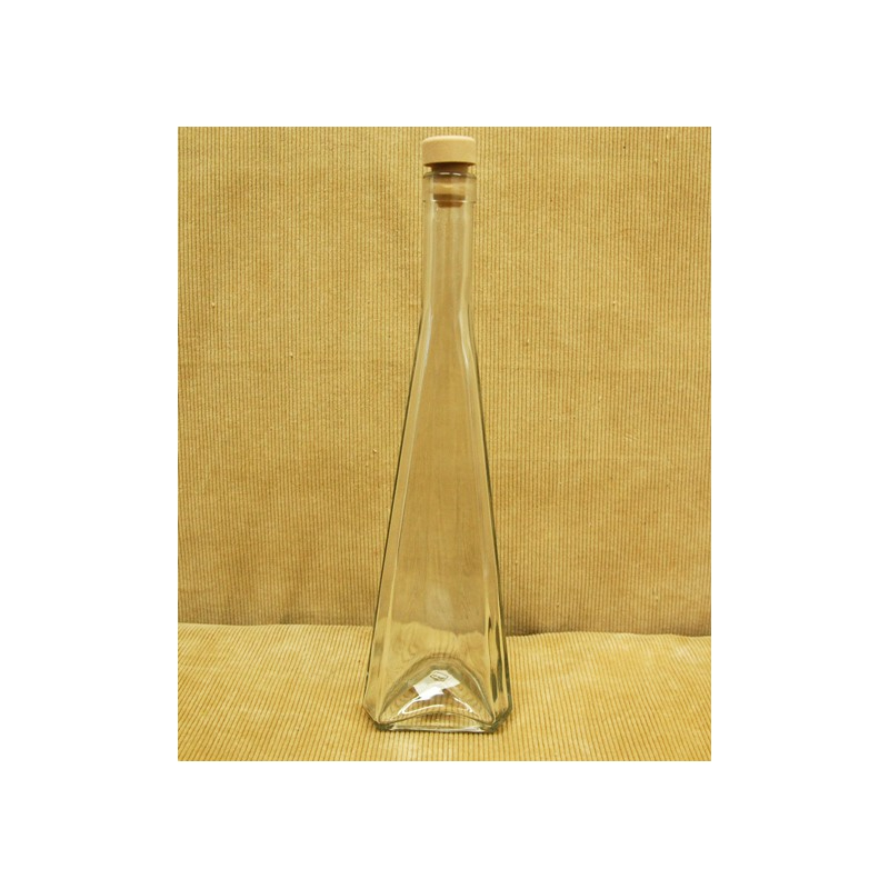 Fľaša B 0,5 L s uzáverom