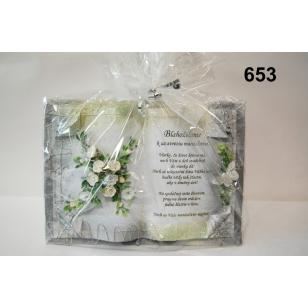 Dekoratívna kniha svadba
