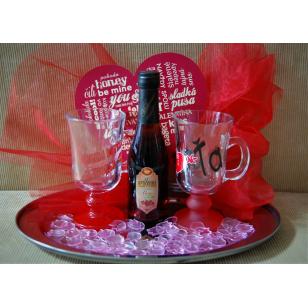 Valentínsky darček sladké...