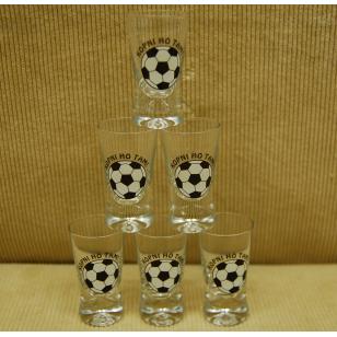 25ml poháre futbal