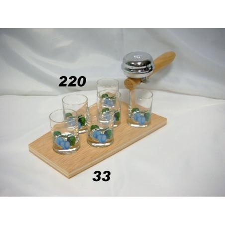 Súprava kelňa 35ml poháre ovocie
