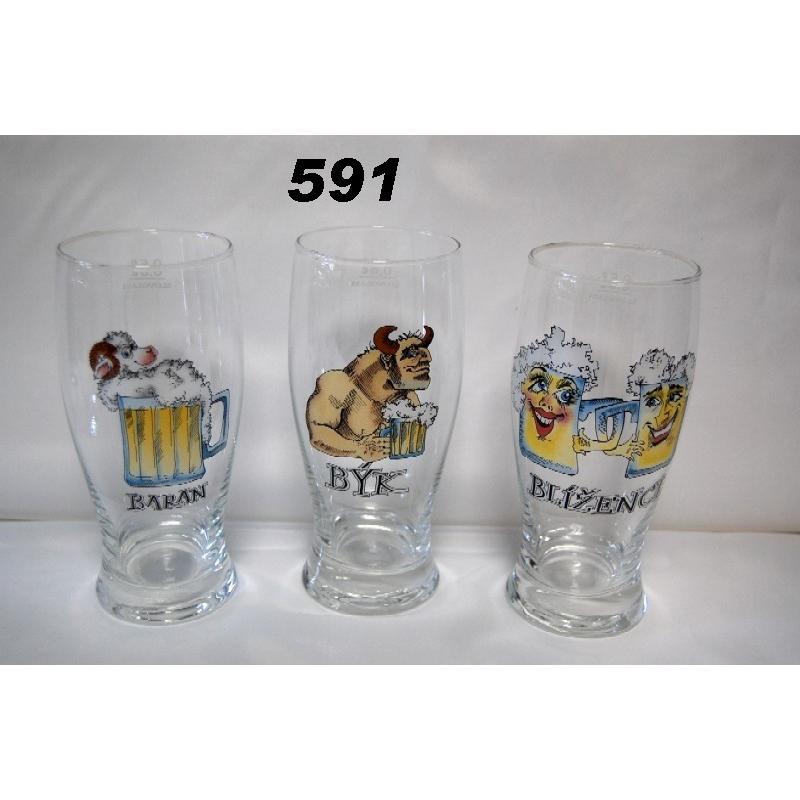 Pivový pohár znamenie