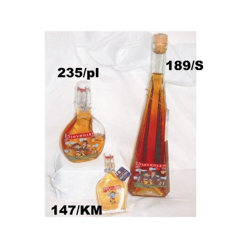 Fľaša0,5L s medovinou Slovensko