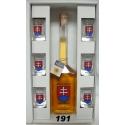 Fľaša s medovinou+poháre Slovensko