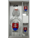 Ploskačka0,2L+2kspohárov Slovensko