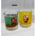 gelová sviečka termo