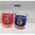 gelová sviečka termo ženy