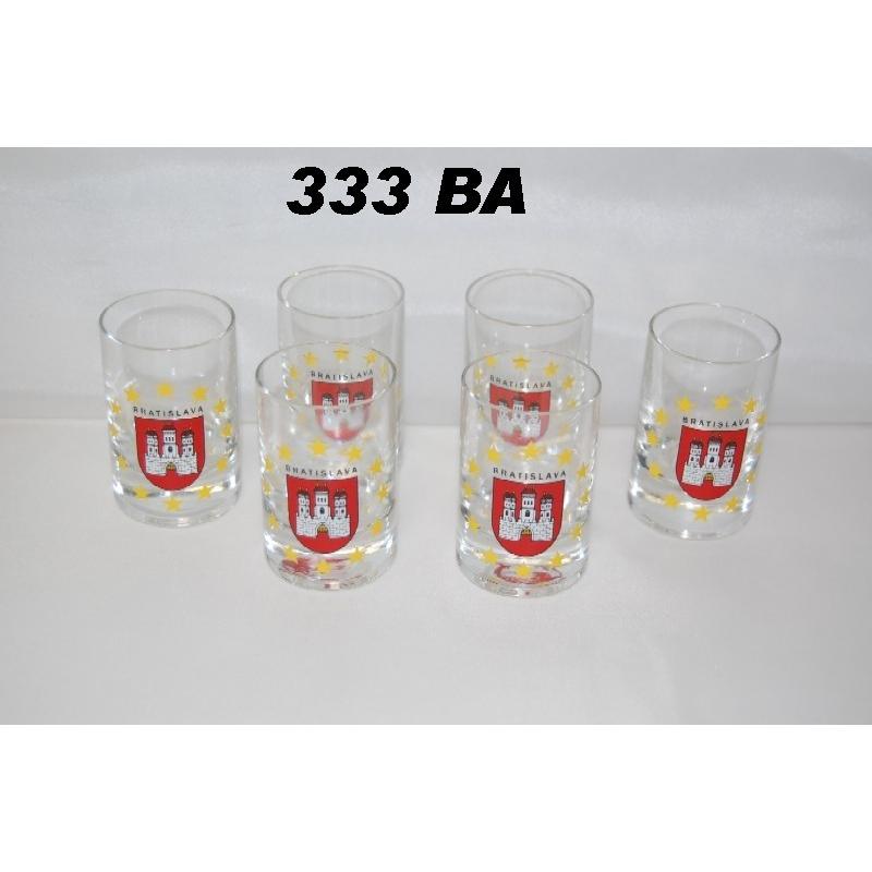 35ml poháre Bratislava